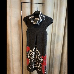 Funky People knit dress with front pockets